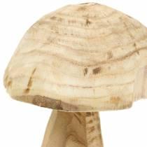 Seta Paulownia madera Ø16cm H18cm