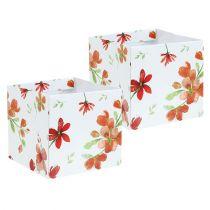 Bolsa de papel 10,5cm x 10,5cm con patrón 8pcs