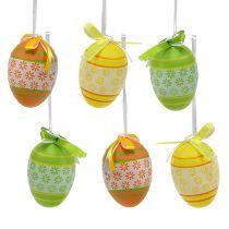 Huevos de plástico 4cm de colores 36pcs