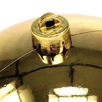 Bola de plástico dorada pequeña Ø14cm 1p