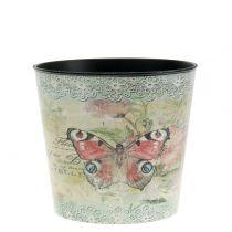 Maceta decorativa mariposa vintage Ø10.5cm