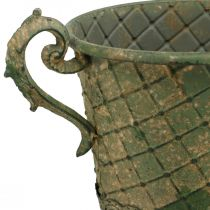 Vaso de plantación, copa decorativa, ánfora para plantar Ø18.5cm H31.5cm