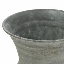 Copa cáliz gris antiguo Ø7.5cm H9cm