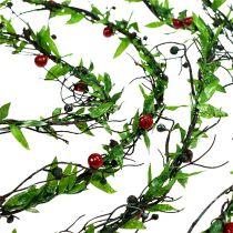 Guirnalda de uvas con bayas 3m