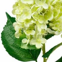 Hortensia de panícula artificial, verde hortensia, flor de seda de alta calidad 98cm