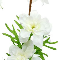 Delphinium artificial blanco 95cm