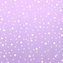 Rondella lunares violeta Ø68cm 50p