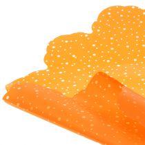 Rondella lunares naranja Ø68cm 50p