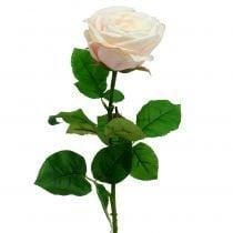 Crema de rosas artificiales 69cm