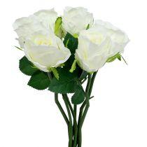 Rose White Ø6cm L30cm 6pcs