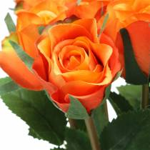Rosa Naranja 42cm 12pcs