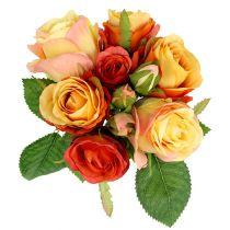 Ramo de rosas Naranja Ø17cm L25cm