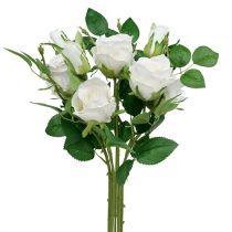 Ramo de Rosas Blanco L46cm