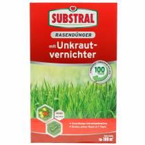 Fertilizante substral para césped con herbicida 2kg