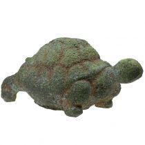 Figura de jardín tortuga musgo 30cm x 18cm H15cm
