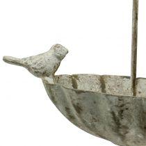 Sombrilla pájaro para colgar antiguo 20cm