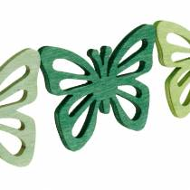 Espolvorea mariposas de decoración, primavera, mariposas de madera, decoración de mesa para espolvorear 72 piezas