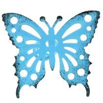 Tapón de flores mariposa colorido 22cm 12pcs