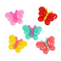 Mini mariposas 2cm multicolor 24pcs