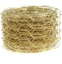Trenza hexagonal 50mm 5m oro