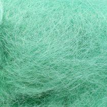Sisal Hierba para la decoración verde claro 250g