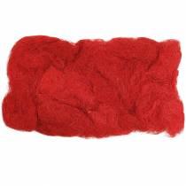 Rojo sisal 500g fibra natural