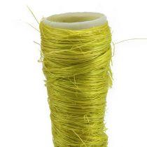 Bolsa de sisal verde claro Ø1,5cm L15cm 20pcs