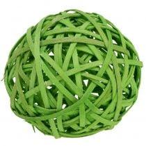 Aglomerado verde claro Ø8cm 4pcs