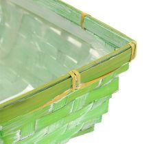 Spank basket set cuadrado multicolor 20 / 11cm 8pcs
