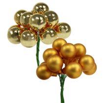 Espejo Berries Gold Mix 25mm 140pcs