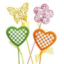 Juego de tapones de flores surtidos 5.5cm - 6cm 12pcs