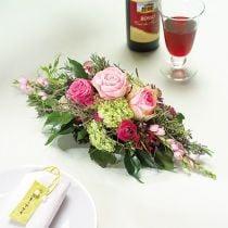 Espuma floral 1/2 ladrillo Garnette 36 8 piezas