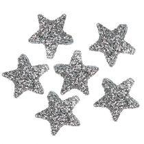 Star glitter 1,5cm para espolvorear plata 144pcs