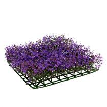 Alfombra flor estrella 25cm x 25cm violeta