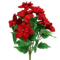 Ramo Poinsettia Rojo L47cm