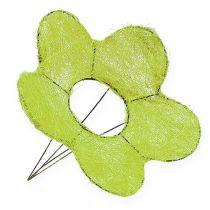 Brazalete Sisal Flor Verde Ø25cm 6pcs