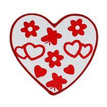 Basura tipo corazón. 3cm 24pcs