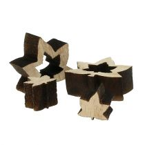 Decoración para controlar hojas de madera 1cm - 2cm naturaleza 192pcs