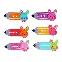 Botones dispersos lápiz decoración de fiesta 24 piezas