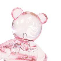 Decoración para controlar oso rosa 3,5cm 60pcs