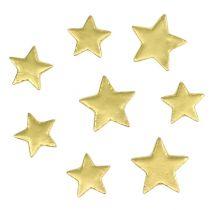 Decoración para controlar star mix 4-5cm oro mate 72pcs