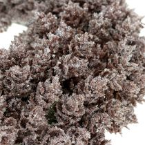 Corona de piña Ø25cm con purpurina