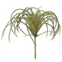 Tillandsia artificial para pegar Planta artificial verde-violeta 13cm