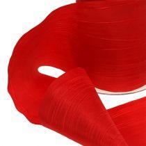 Cinta de mesa Red Crash 100mm 15m