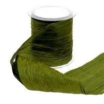 Bisagra de mesa Crash verde musgo 10mm 15m