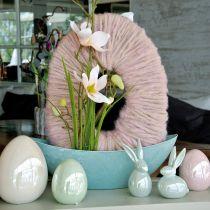 Nácar rosa huevo 15cm 1p
