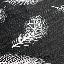 Camino de mesa con patrón de plumas 30cm x 500cm