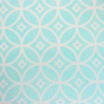Camino de mesa con dibujo azul claro 30cm x 300cm