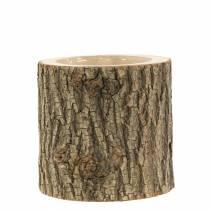 Maceta olmo madera Ø11-13cm H11cm