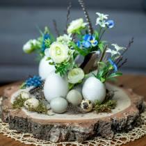 Huevos de pavo natural 6.5cm 10pcs